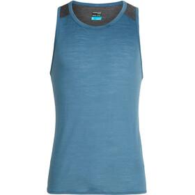 Icebreaker Amplify Running Shirt sleeveless Men blue
